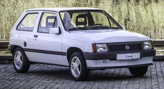 Opel Corsa A (1982-1993) на IronHorse.ru ©