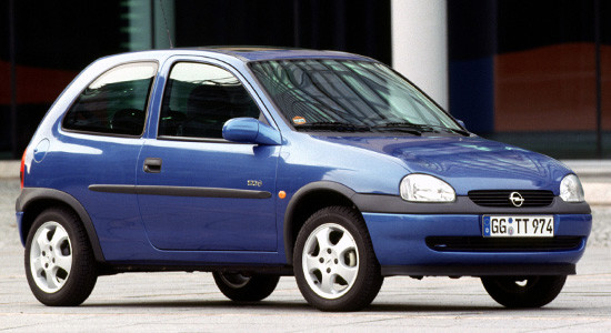 Opel Corsa B (1992-2000) на IronHorse.ru ©