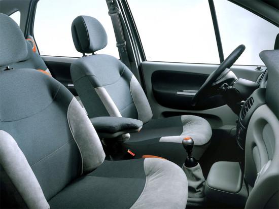 интерьер салона Renault Scenic RX4