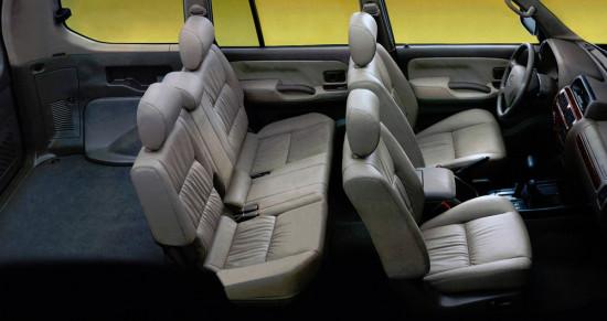 интерьер и компоновка салона Toyota Land Cruiser 90 Prado