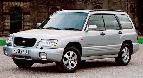 Subaru Forester 1 (1996-2002) на IronHorse.ru ©