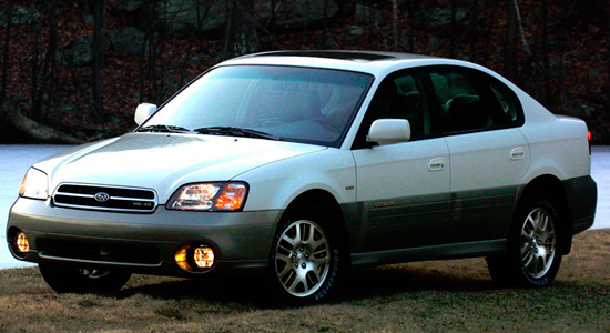 US-седан Subaru Outback 2 (2000-2003)