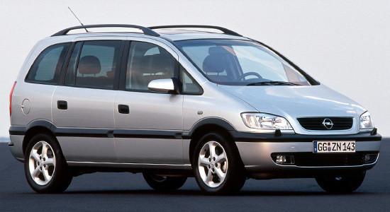 Opel Zafira A на IronHorse.ru ©