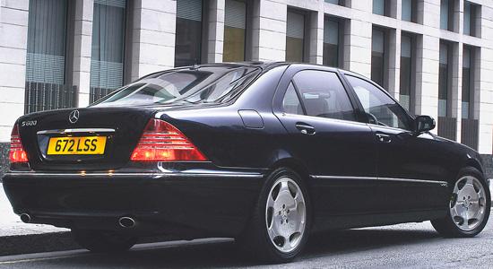 седан Mercedes-Benz S-class W220