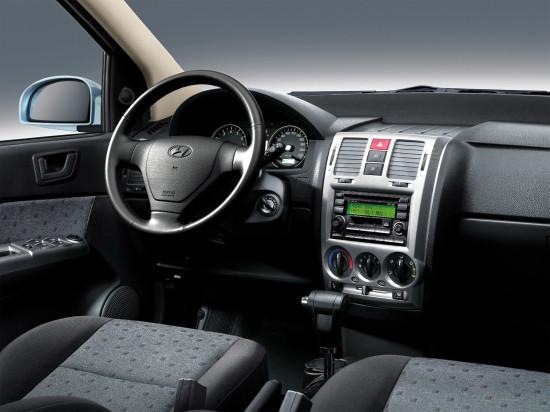 интерьер салона Hyundai Getz II