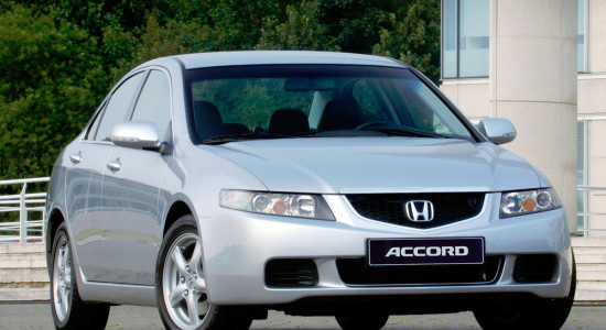 Honda Accord 7 (2002-2007) на IronHorse.ru ©