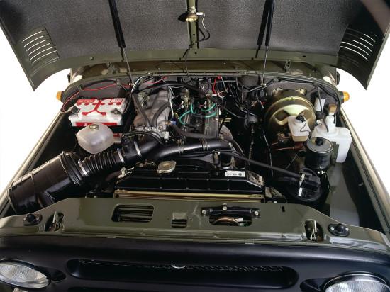 под капотом Хантера (двигатель)