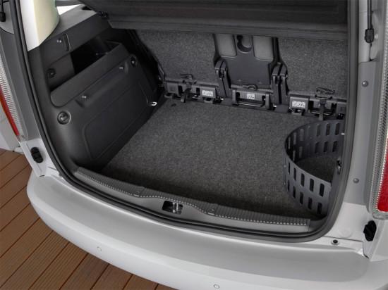 багажное отделение Skoda Roomster