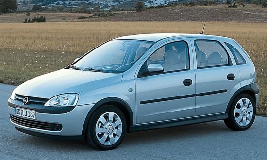 Opel Corsa C 1999-2003