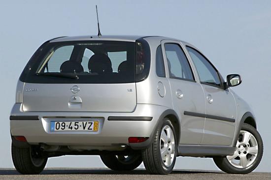 Opel Corsa C (3-е поколение)
