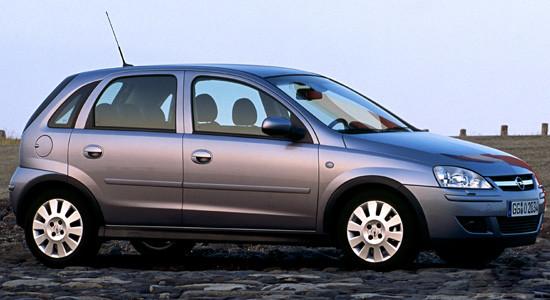 Opel Corsa C (2000-2006) на IronHorse.ru ©