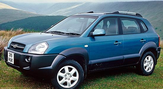 Hyundai Tucson 1 (2004-2009) на IronHorse.ru ©