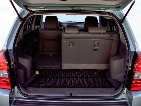 багажное отделение Hyundai Tucson 1-поколения