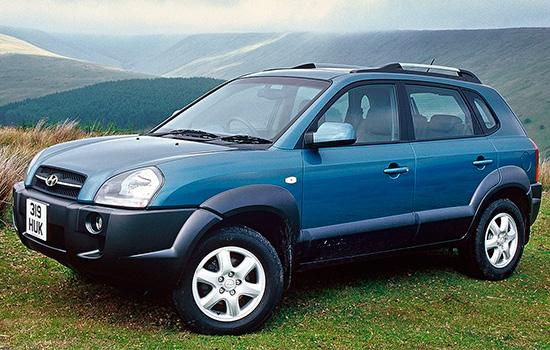 Hyundai Tucson 1 (2004-2009)