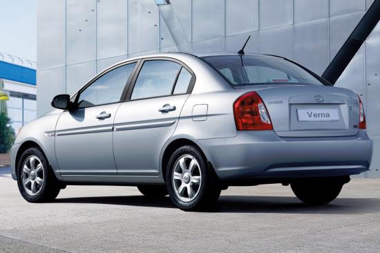 Hyundai Verna (Accent 3)