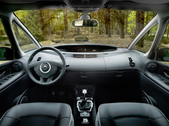 интерьер салона Renault Espace 4 (2010-2014)