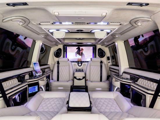 интерьер салона Volkswagen Multivan Business T5