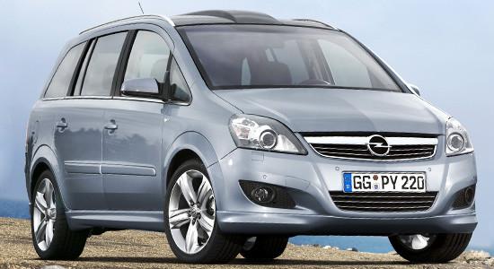 Opel Zafira B (Family) на IronHorse.ru ©