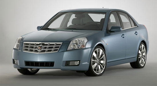 Автомобиль Cadillac BLS