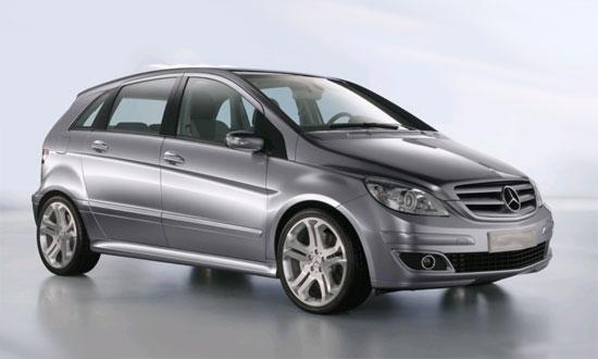 Автомобиль Mercedes A-klasse