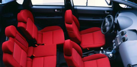 интерьер салона Mitsubishi Colt 6 (2002-2008)
