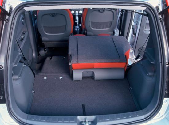 багажное отделение Mitsubishi Colt 6 (2002-2008)