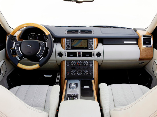 интерьер салона Range Rover 3 (L322)