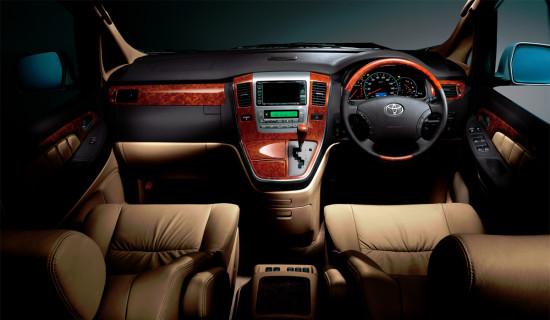 интерьер салона Toyota Alphard 1