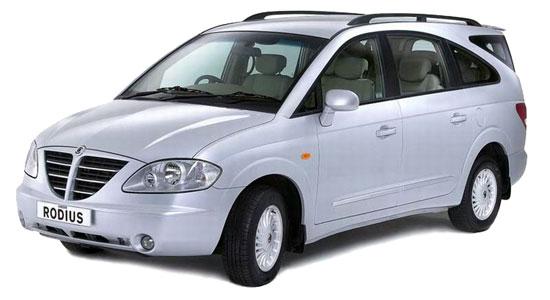 Автомобиль SsangYong Rodius