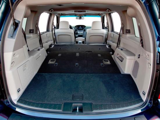 багажное отделение Honda Pilot 2