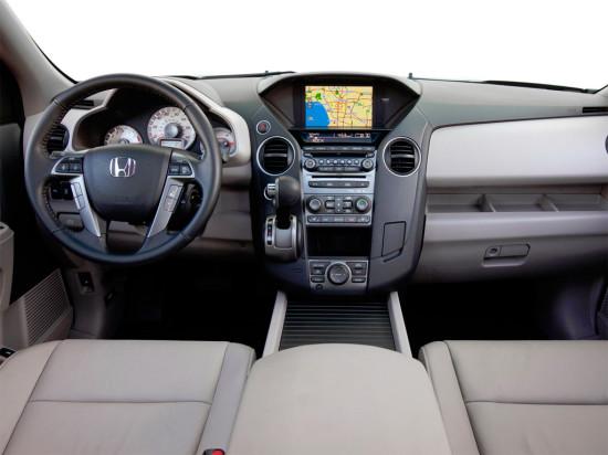 интерьер Honda Pilot 2