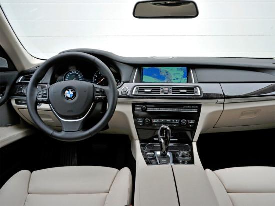 интерьер BMW 7-series F01