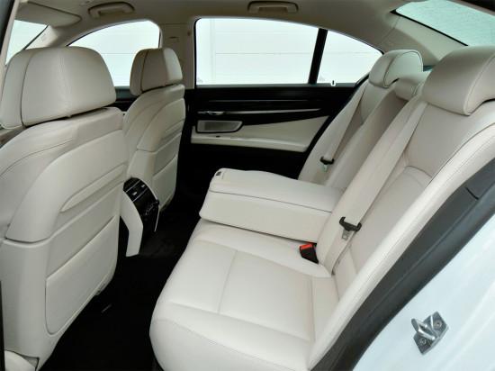 в салоне BMW 7-series F01