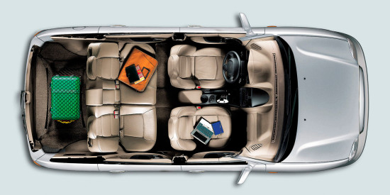 в салоне Hyundai Santa Fe Classic