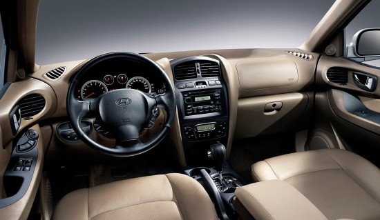 интерьер Hyundai Santa Fe Classic