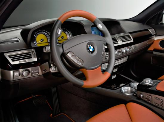 интерьер салона BMW 7-Series E65