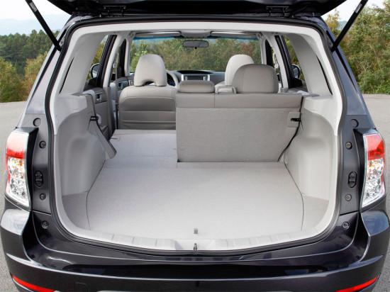 багажное отделение Subaru Forester SH