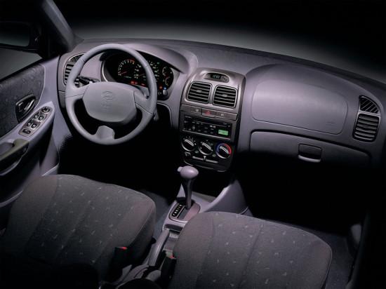 интерьер Hyundai Accent 2 (ТагАЗ)