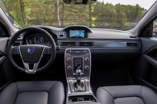 интерьер салона Volvo XC70 II