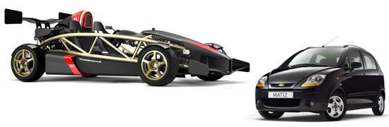 Самый быстрый автомобиль и самый медленный (2009) на IronHorse.ru ©