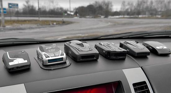 радар-детекторы и антирадары
