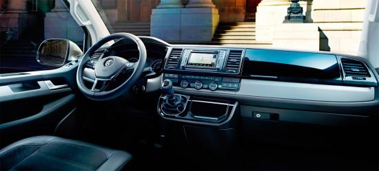 интерьер салона Volkswagen Multivan T6