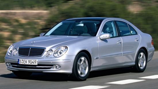 Mercedes-Benz E-Class W211 (2002-2006)