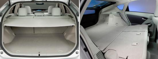багажное отделение Toyota Prius 3