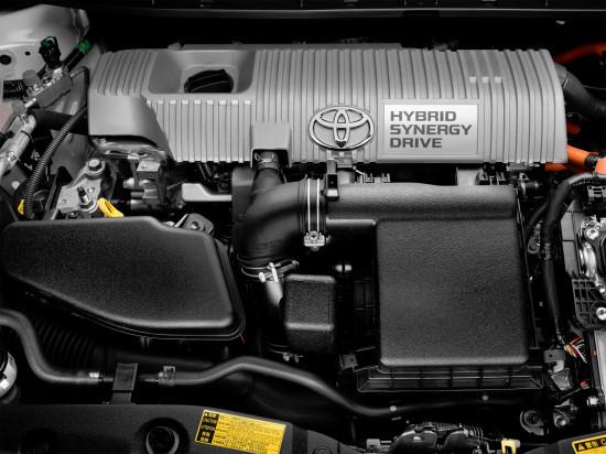 под капотом Toyota Prius 3