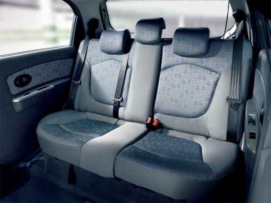интерьер салона Chevrolet Spark II