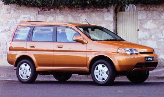 Honda HR-V (пятидверная)
