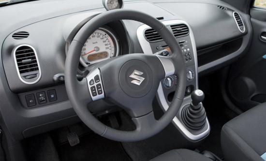 интерьер Suzuki Splash