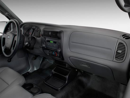 интерьер салона Ford Ranger (2006-2011)