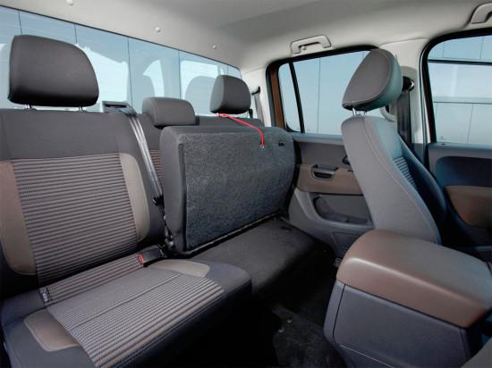 салон Volkswagen Amarok DoubleCab